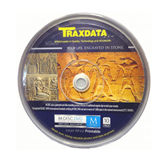 Traxdata M-Disc Archival Grade- 10 spindle